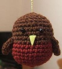 Too sweet! I love amigurumi.