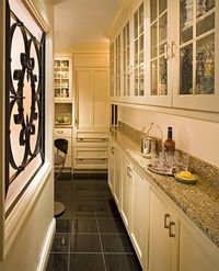 Better utilization of kitchen space in a condo.