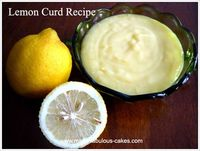 lemon curd, orange curd, lime curd