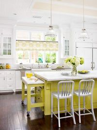 Gorgeous kitchen with pull out island