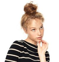 topknot how-to.