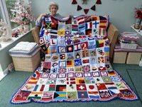 Going For Gold' Olympic Blanket.