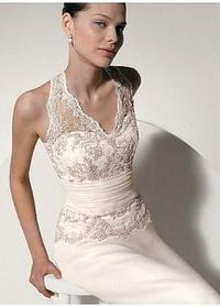 Wedding Dress In Great Handwork