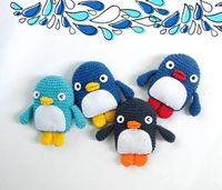 Crochet penguins part III