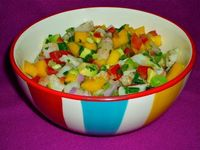 The Weekend Gourmet: Beat the Heat #SundaySupper...Featuring Refreshing Chunky Shrimp Salsa