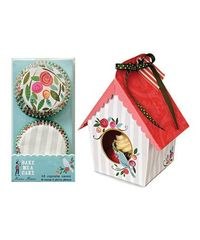 Birdhouse Cupcake Wrapper