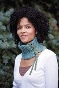 Corseted Necklet - free knitting pattern