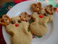 Whole Wheat Reindeer Cuties