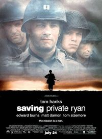"""Saving Private Ryan"" ~ Tom Hanks & Matt Damon 1998"