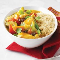 couscous with seven vegetables (moroccan couscous)