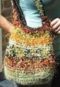 Crochet Bird nest Bag http://www.artisanart.biz/Tutorials/Bird nest bag.html