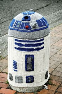 R2D2 in Bellingham, Washington, USA.
