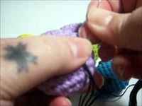 An easy method to embroider mouths and other details on amigurumi ~VideoTutorial