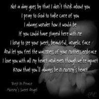 Wow, an article about Oct 15 (Pregnancy and Infant Loss Awareness (PAIL) Day)... Love the poem!