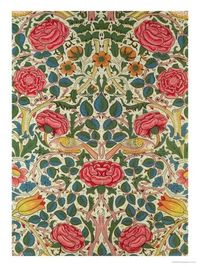 Rose, 1883 by William Morris. Giclee print from Art.com.