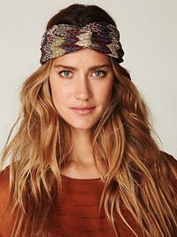 Free People is great for hair inspiration. I love the ombre color and wind-blown waves. Turbans my new go-to for 3rd day sans shampoo.