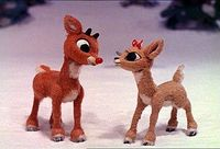 Rudolph the Red-Nosed Reindeer ~1960's. An annual holiday tradition that we kids really looked forward to.