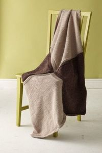Cozy blanket pattern