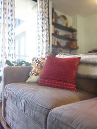 decorology: My curtains revealed and an introduction to The Loaded Trunk!