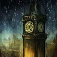 Clock tower - Tumblr