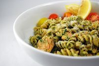 Salmon and Pesto Pasta by House of Spain