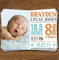 birth announcements...