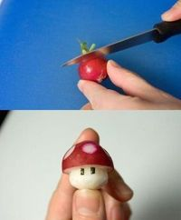 Power Up radish!