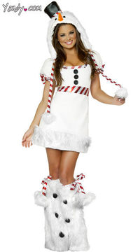 This sexy playful snowman costume will have everyone talking this Christmas.