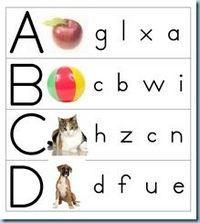 ABC-abc�€�Can you find the baby letter?
