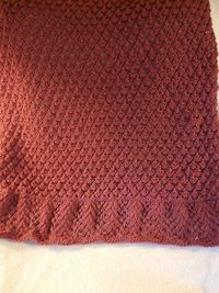 The Strawberry Stole #wrap #knitting #pattern