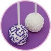 Cake Pops - possible for dessert, all the craze these days