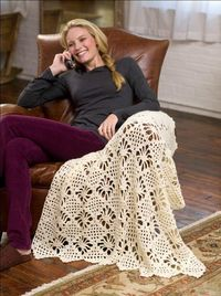 LOVE this pattern - make a shawl with it?