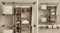 Double Rod Closet - great for extra storage space