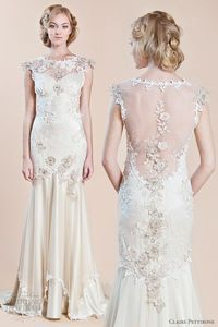 Posts Similar To Claire Pettibone Genevieve Wedding Gown