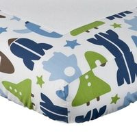 Matching changing pad cover.