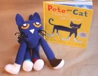Repeat Crafter Me: Pete the Cat Crochet Doll