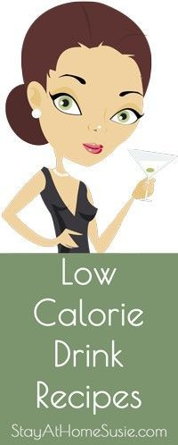 Low calorie drink-recipes
