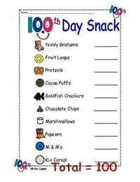 nice to remember the snack list!