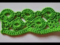 """How to Crochet * Crochet Stitch """"Rings of Love"""""""