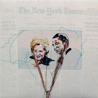 Broderie et New York Times !