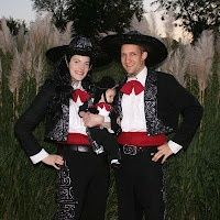 The Three Amigos Halloween Costume! All three of my kids love this movie...costume idea for next year!!!