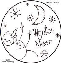 Free Wynter Moon Candle Mat