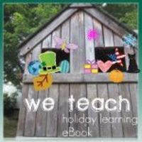 yay! the we teach: holiday learning eBook is finished! *free* and fabulous! #weteach