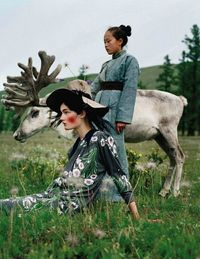 Kirsi Pyrhönen photographed by Tim Walker