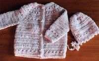 Sweater With Cross Crochet Stitch Design free crochet pattern