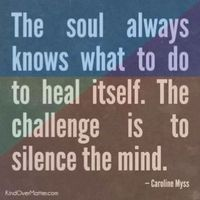 Quiet that inner critic