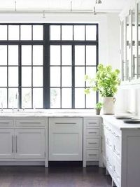 The Modern Sophisticate: Black French Window Frames