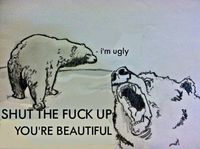 yup.... this is how i feel when my friends complain about how they think they look. i say it with love though :)