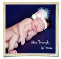 Newborn Purple Feather Infant Toes