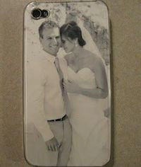 Custom iPhone case for under 2 dollars! So easy and never thought of it!
